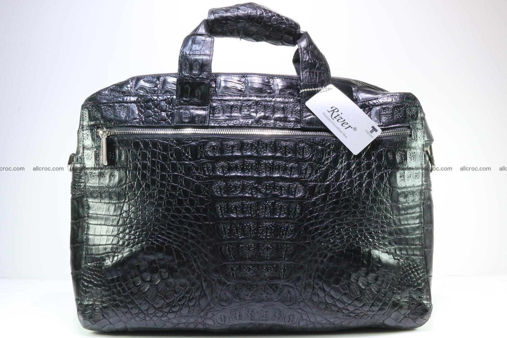 Crocodile skin handbag 127 Foto 1