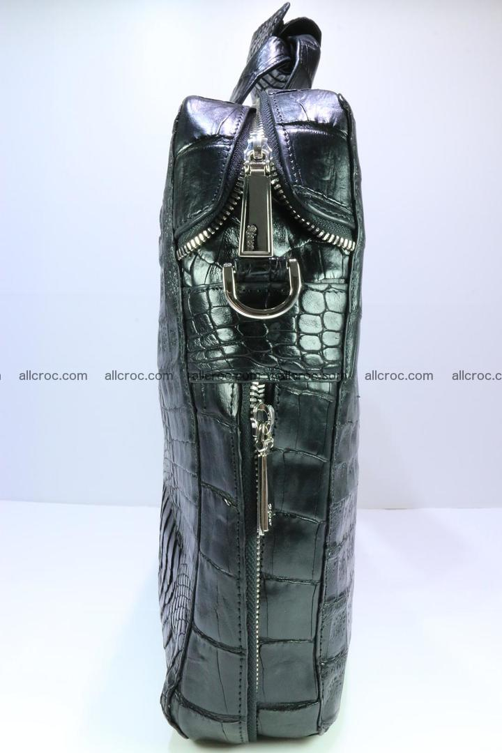 Crocodile skin handbag 127 Foto 6