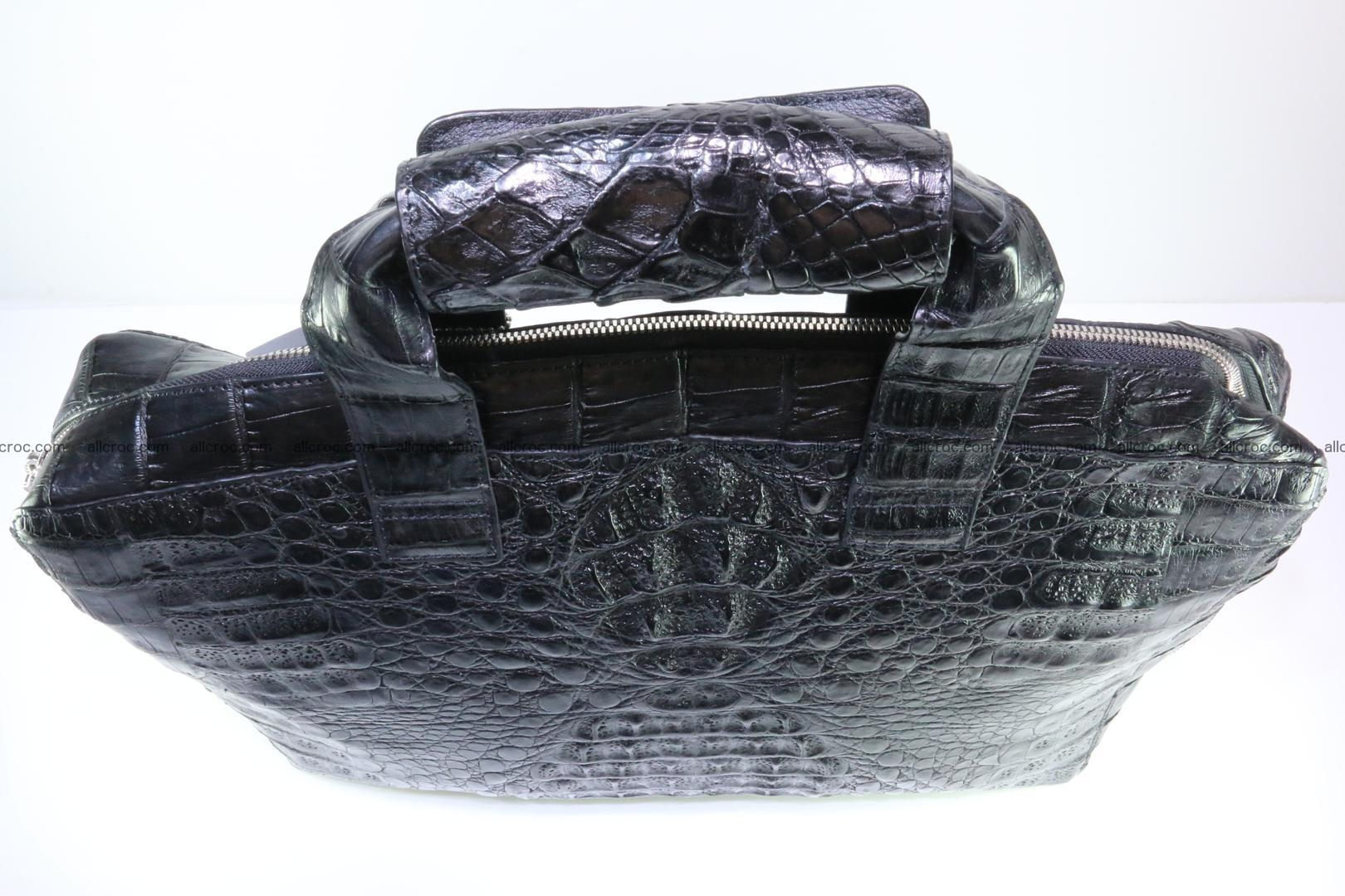 Crocodile skin handbag 127 Foto 9