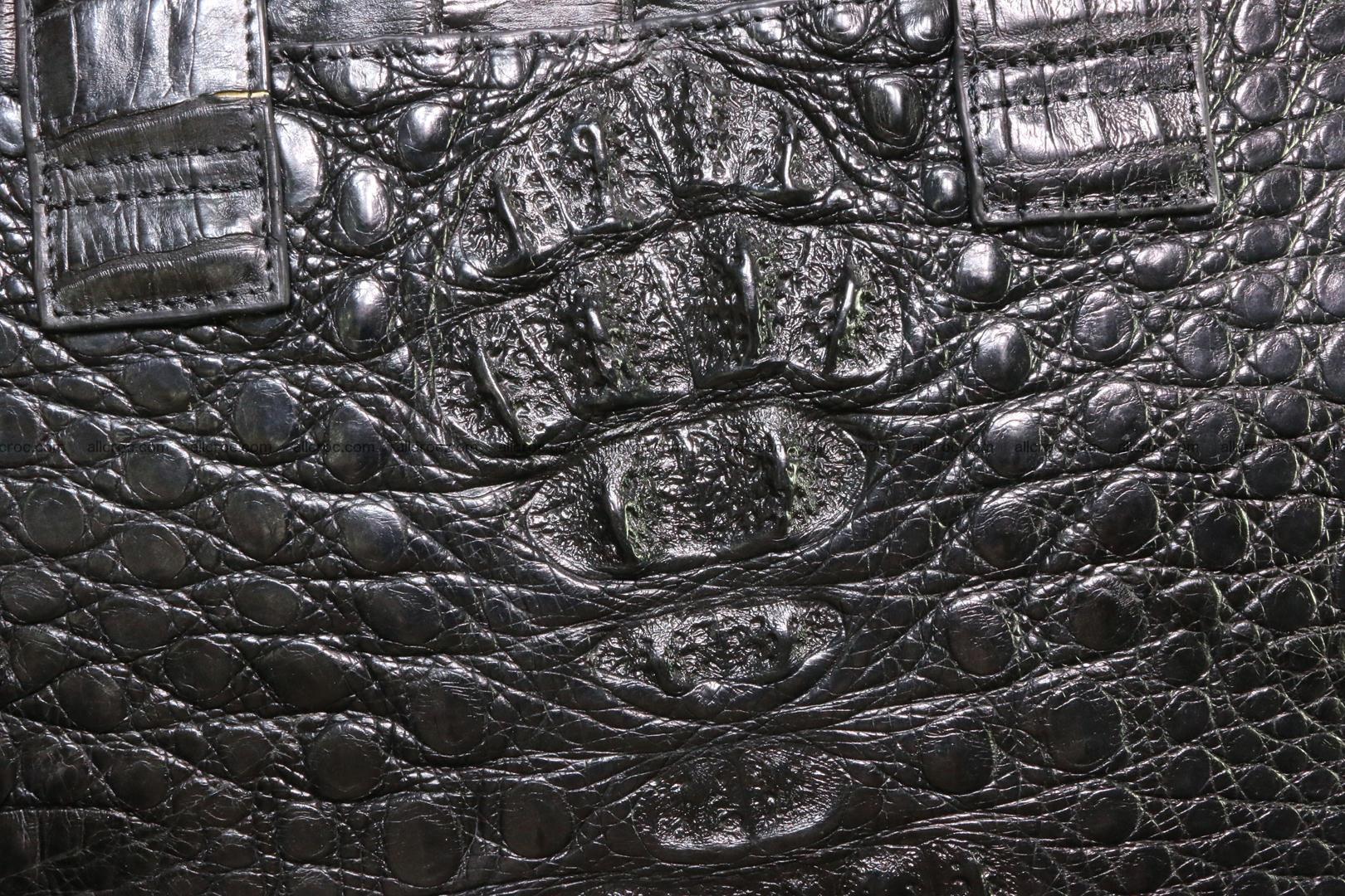 Crocodile skin handbag 127 Foto 4