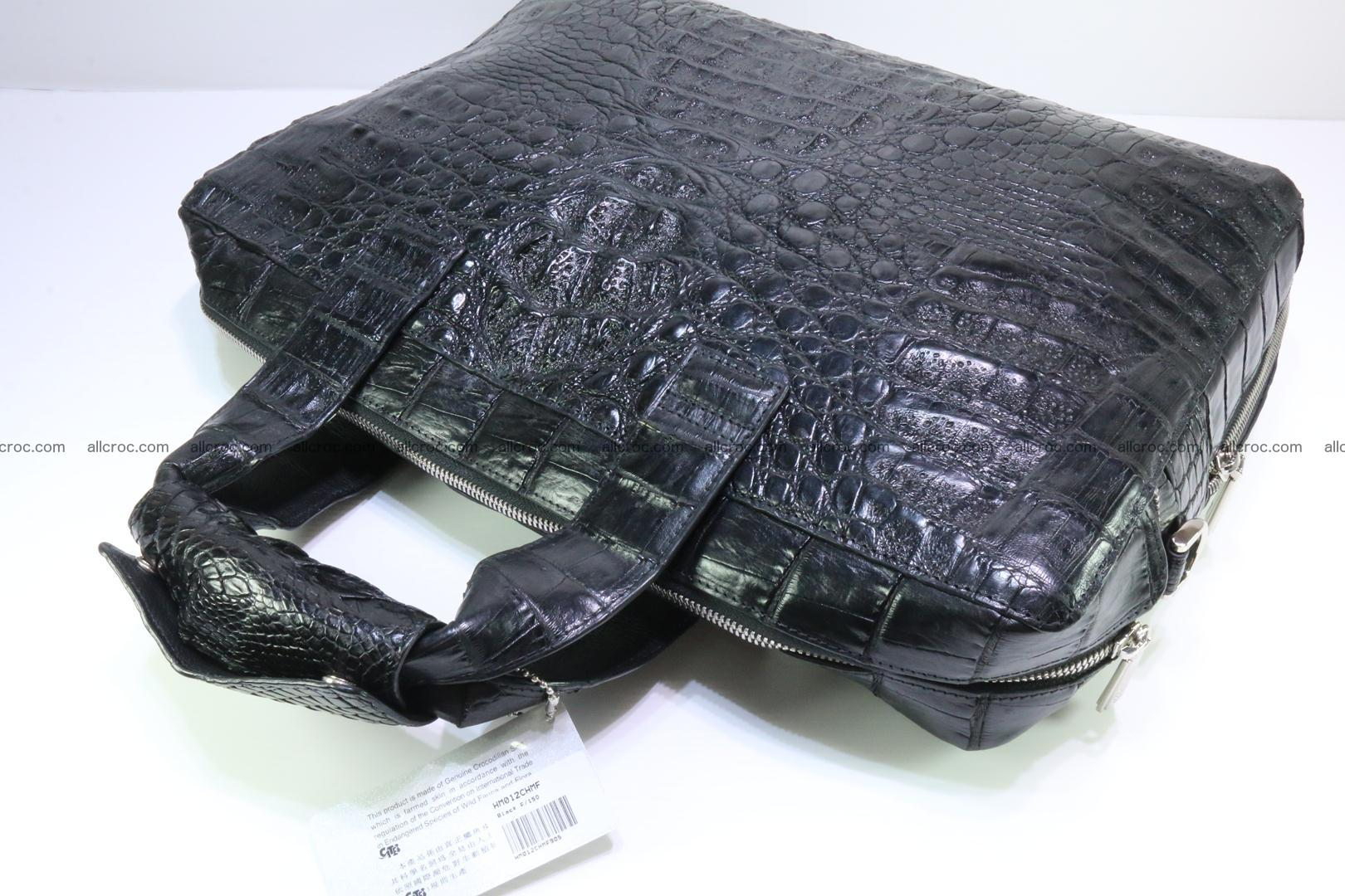 Crocodile skin handbag 127 Foto 7