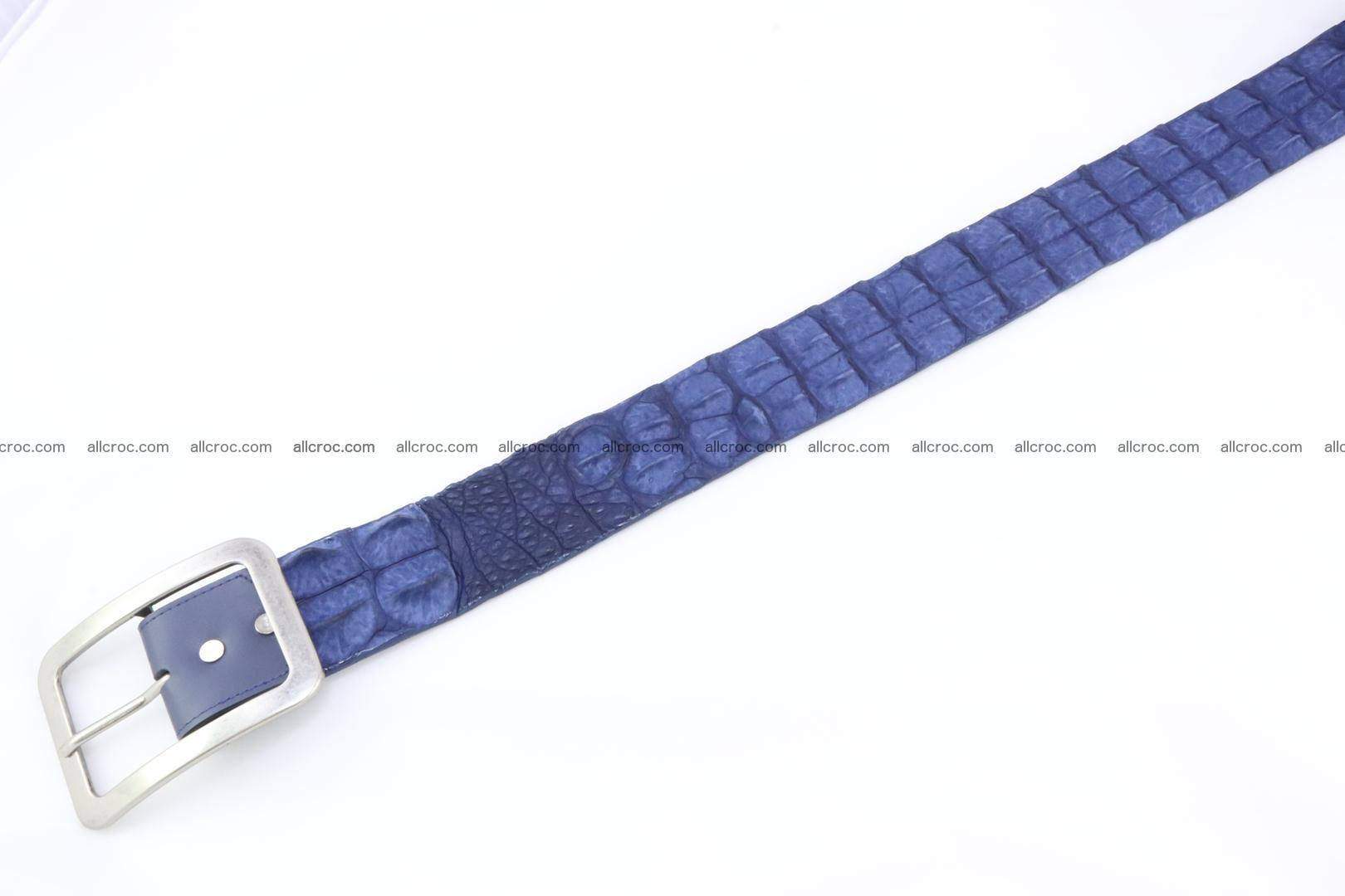 Genuine crocodile hornback belt for jeans width 50mm 151 Foto 4