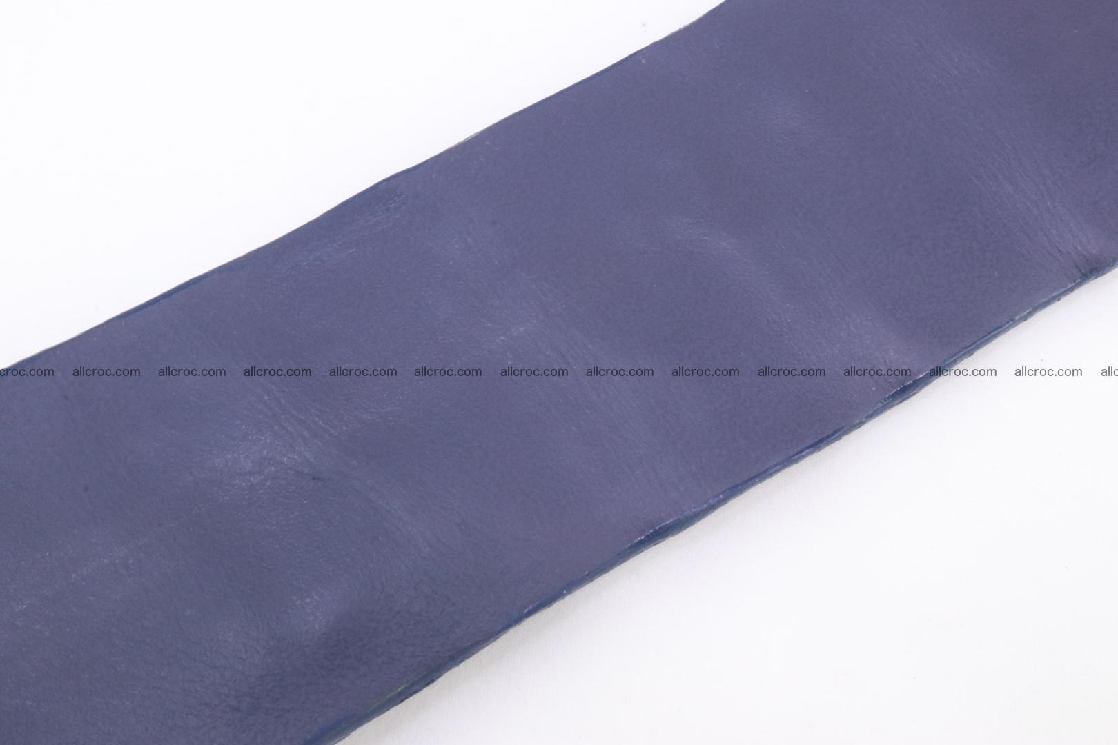 Genuine crocodile hornback belt for jeans width 50mm 154 Foto 8