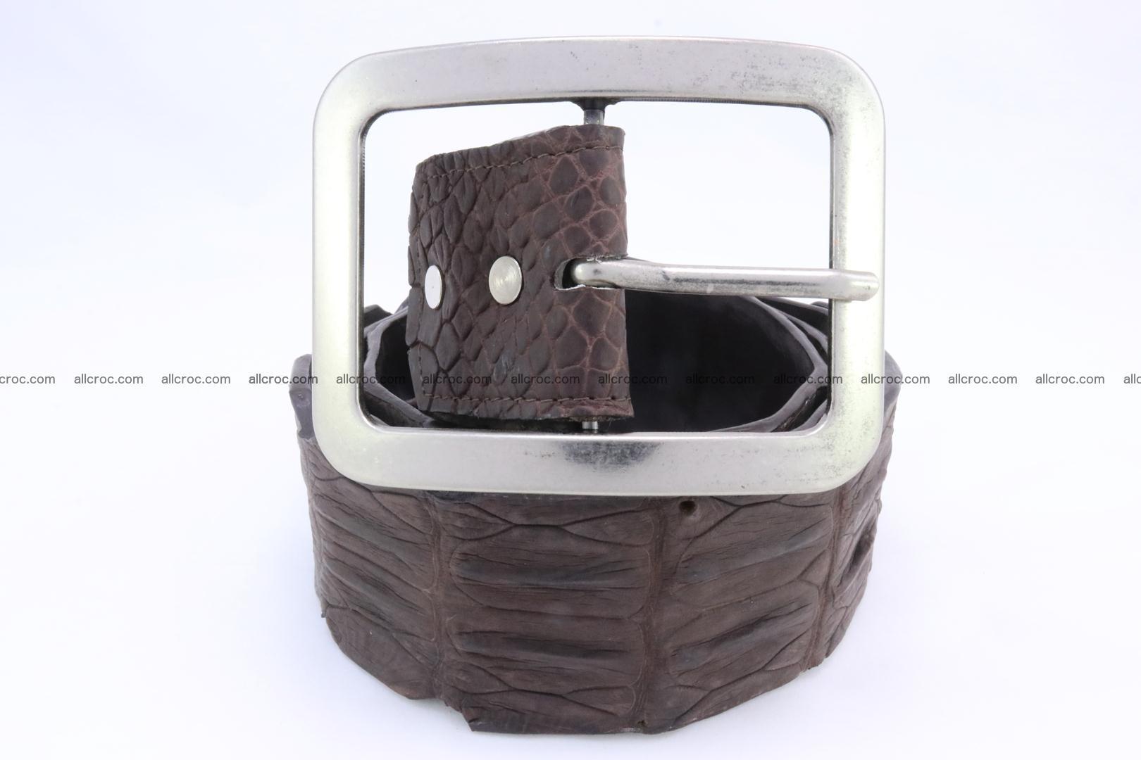 Genuine crocodile hornback belt for jeans width 50mm 152 Foto 1