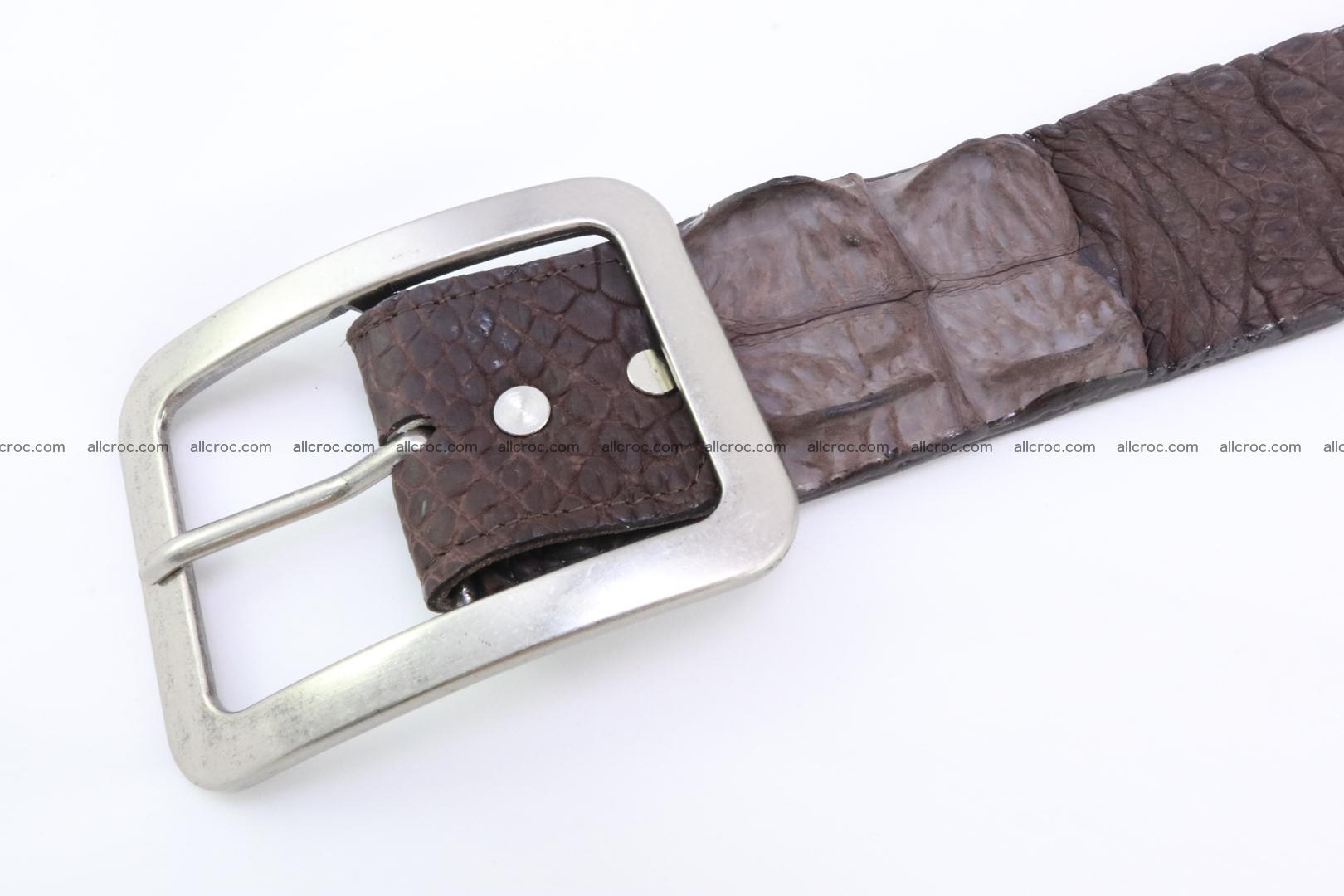 Genuine crocodile hornback belt for jeans width 50mm 152 Foto 3