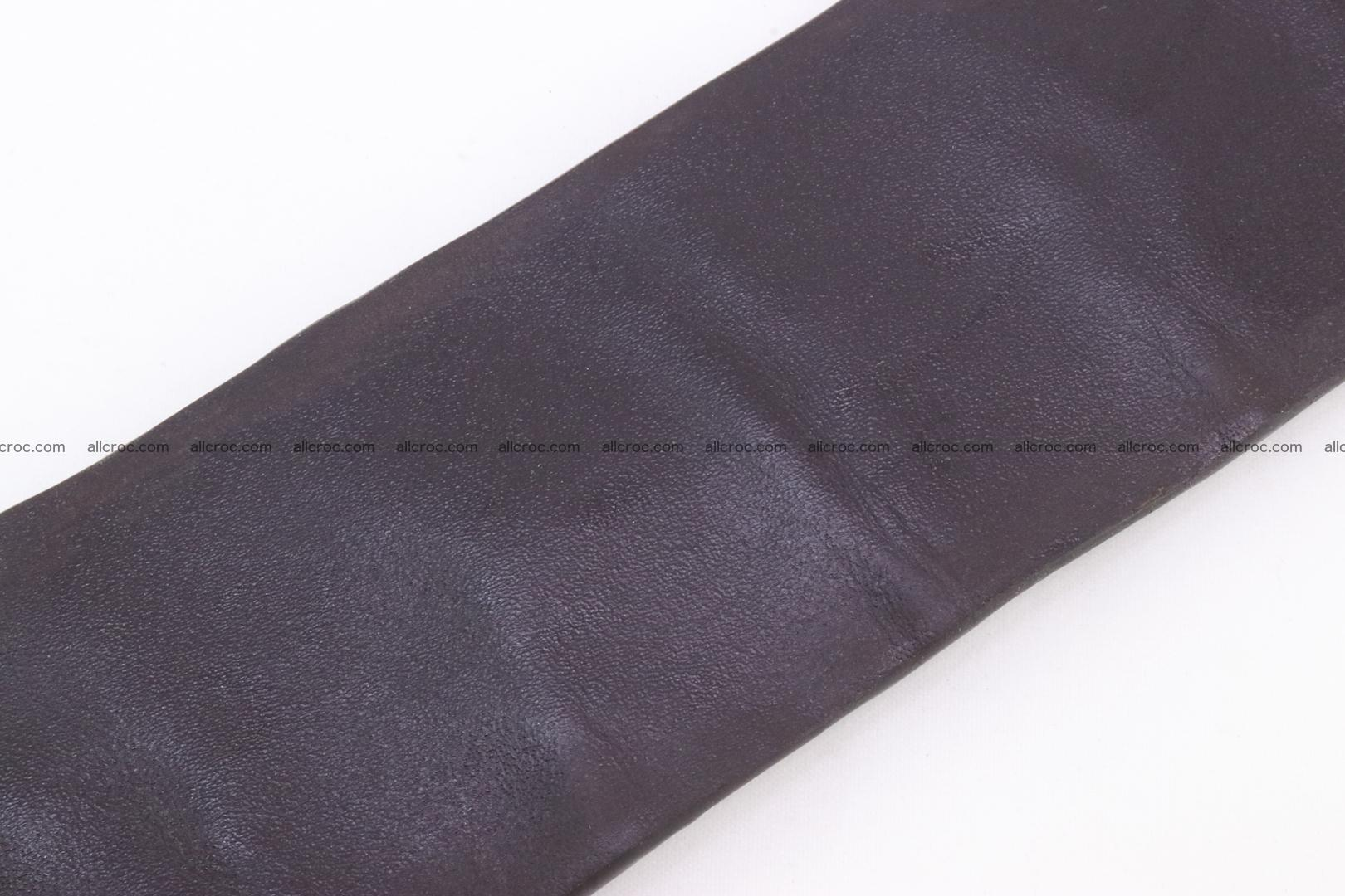 Genuine crocodile hornback belt for jeans width 50mm 152 Foto 8