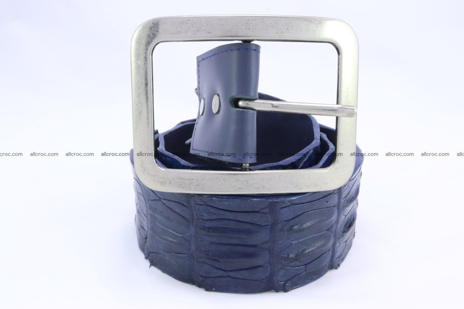 Genuine crocodile hornback belt for jeans width 50mm 154 Foto 1