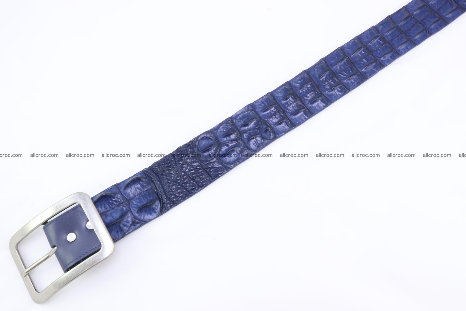 Genuine crocodile hornback belt for jeans width 50mm 154 Foto 4