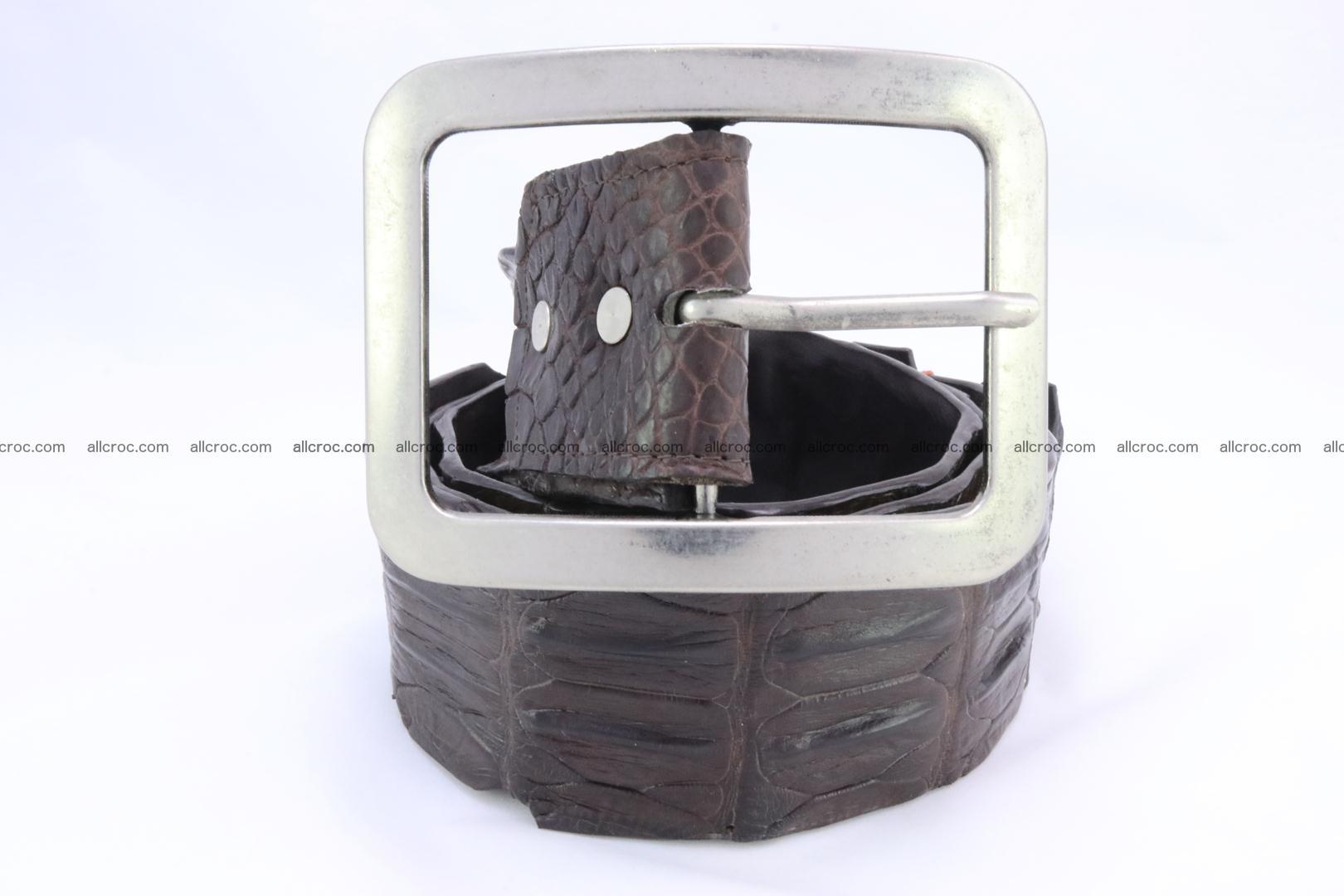Genuine crocodile hornback belt for jeans width 50mm 155 Foto 2
