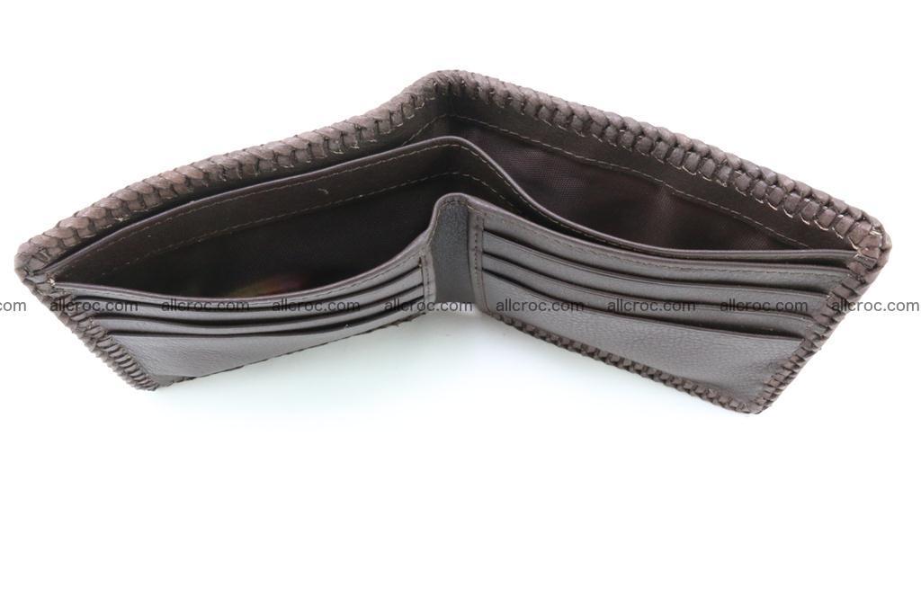 Genuine crocodile hornback wallet 116 Foto 8