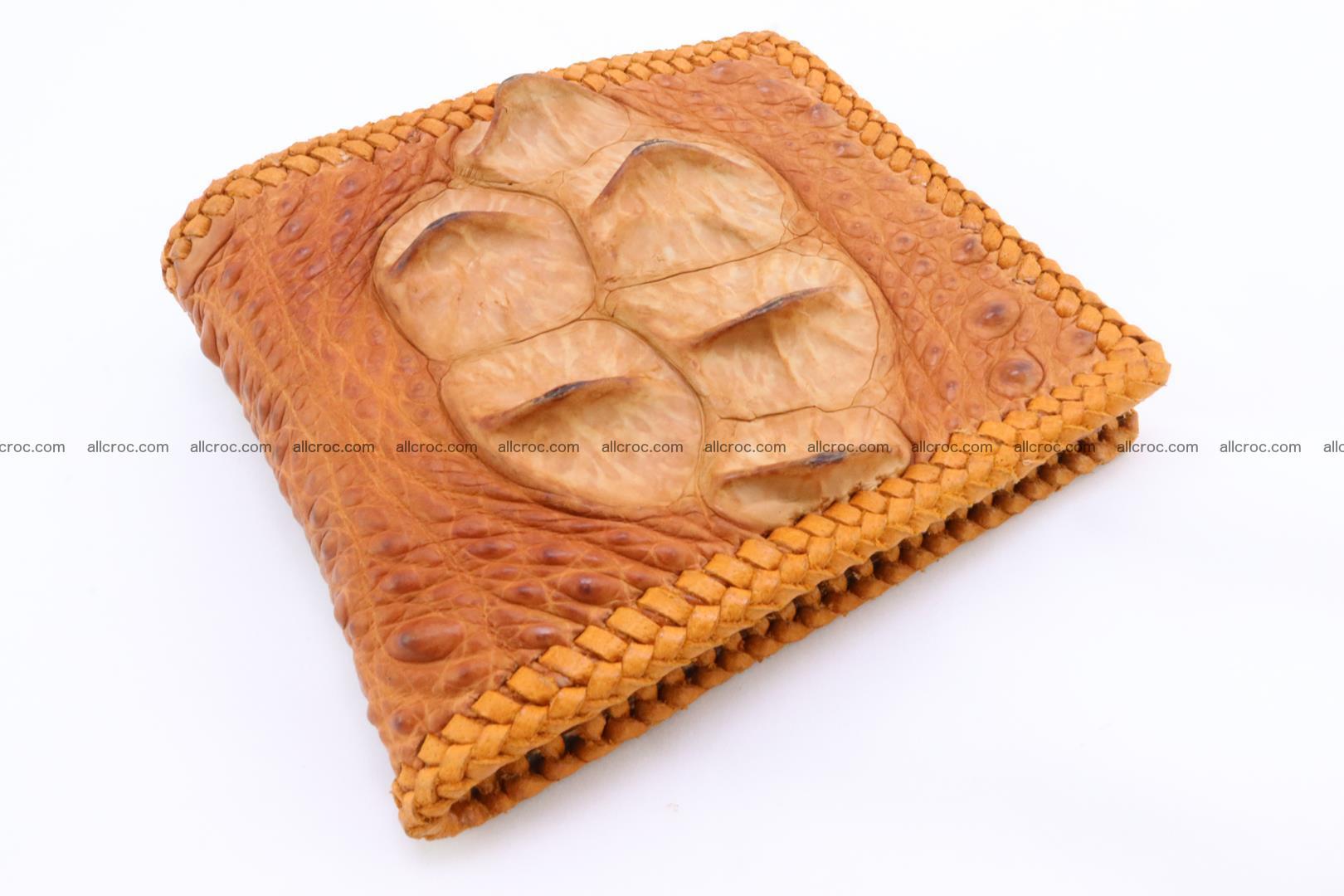 Genuine crocodile hornback wallet 134 Foto 0