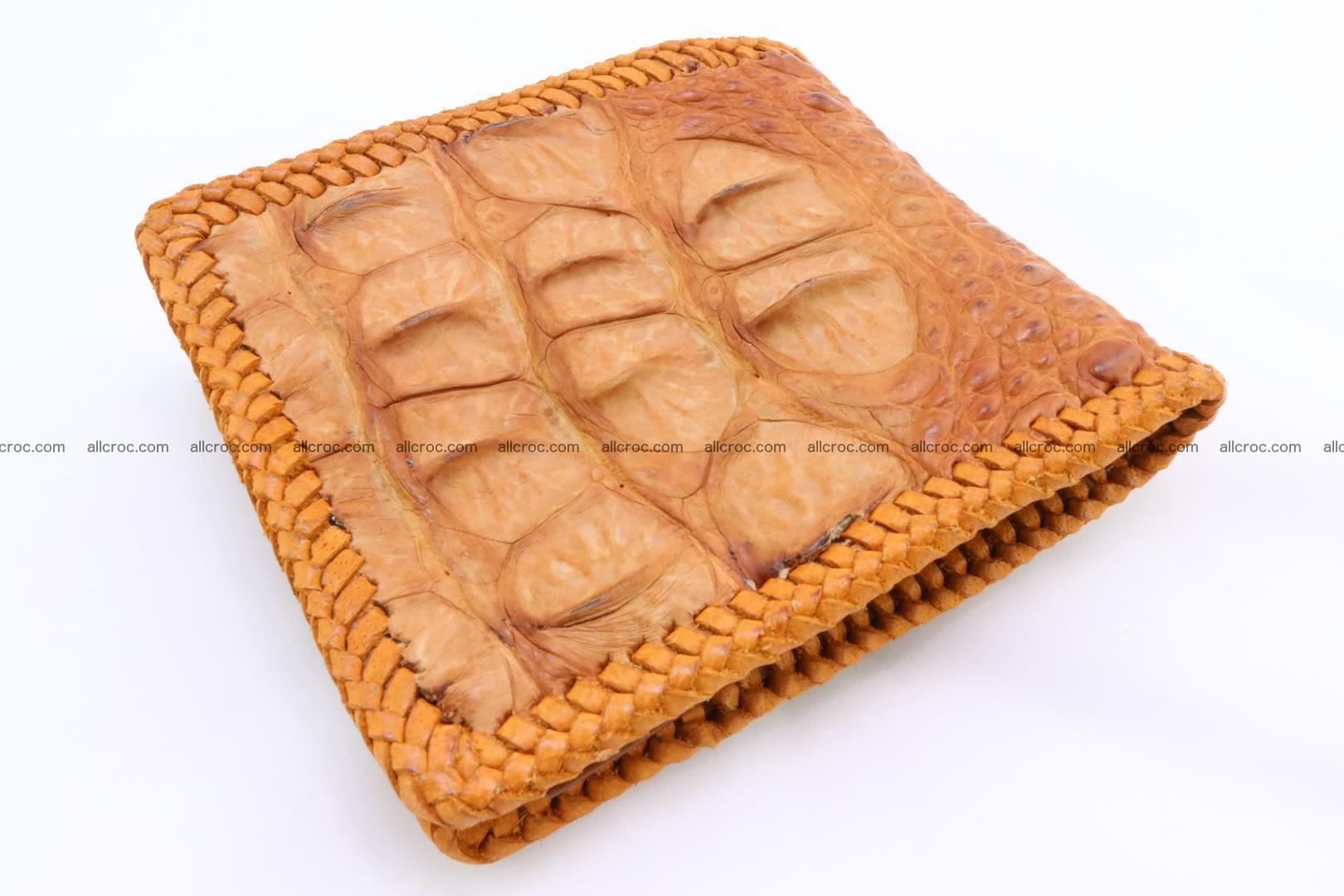 Genuine crocodile hornback wallet 134 Foto 4