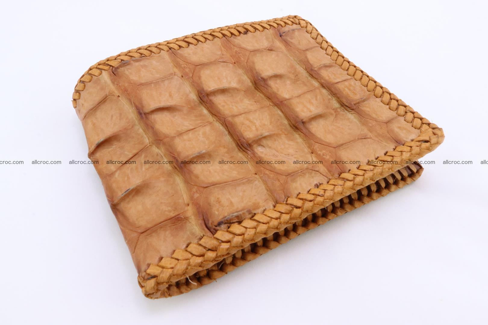 Genuine crocodile hornback wallet 135 Foto 0