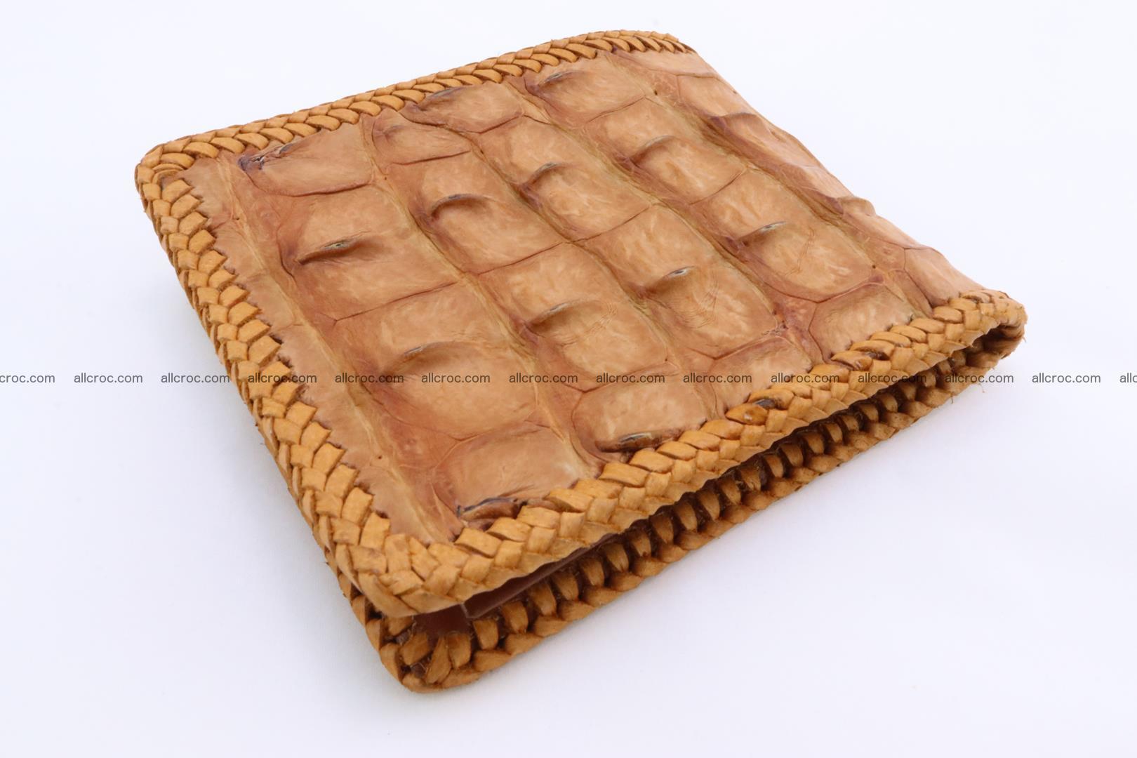Genuine crocodile hornback wallet 135 Foto 2