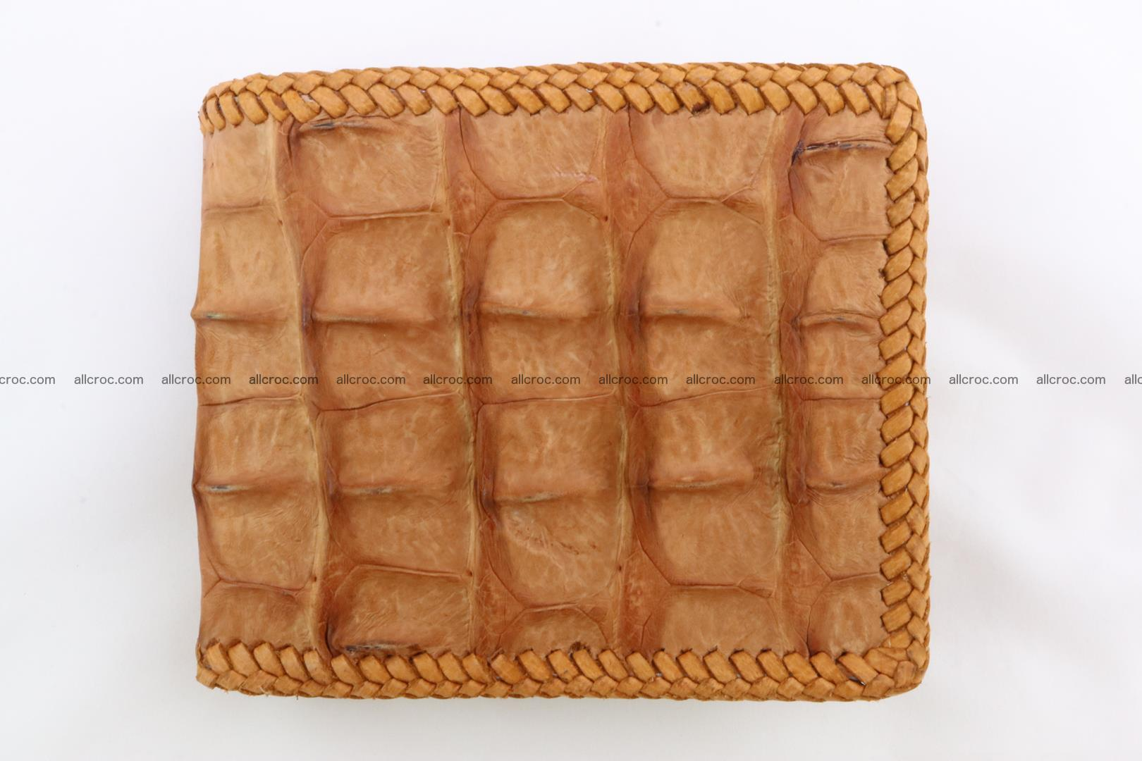 Genuine crocodile hornback wallet 135 Foto 3