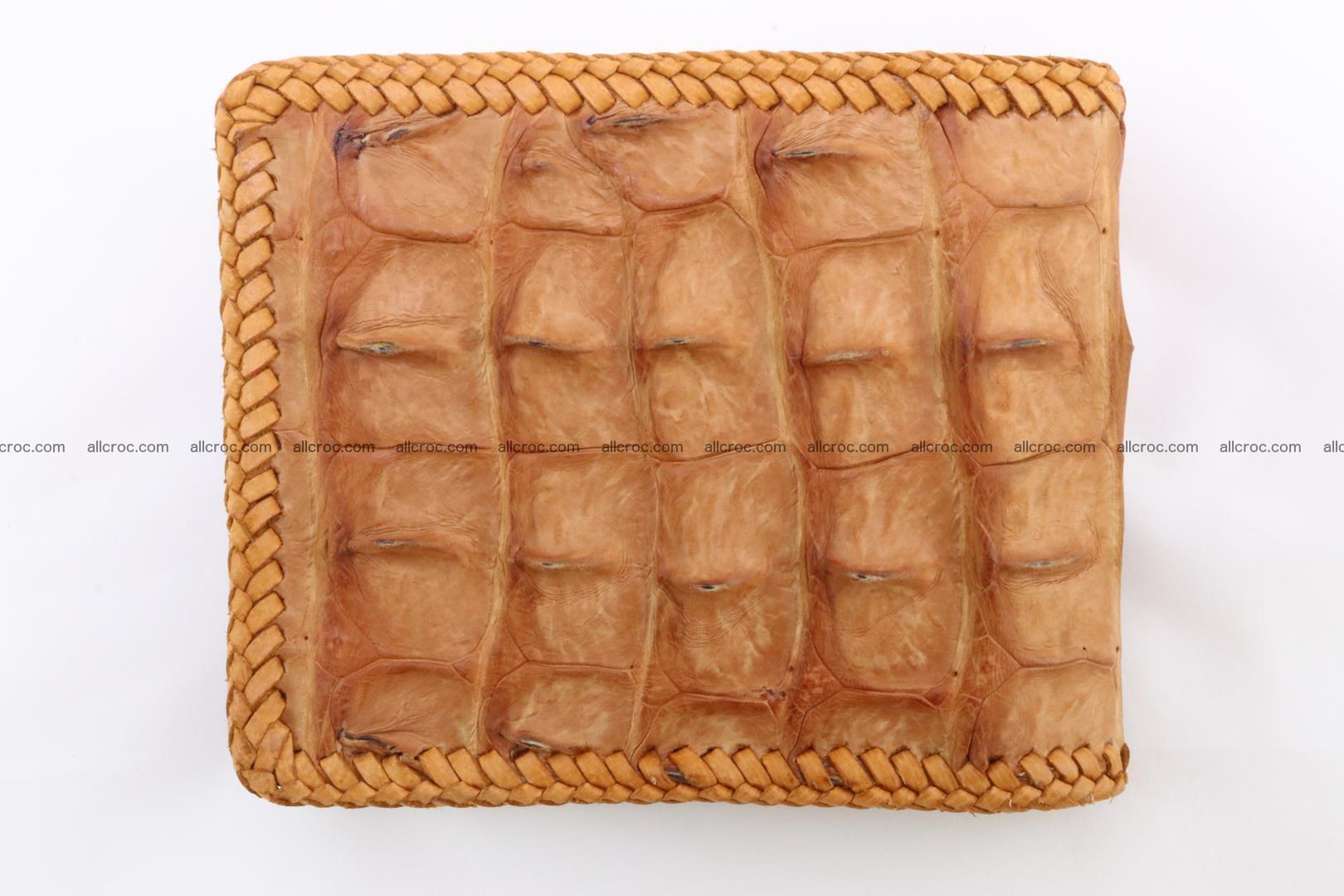 Genuine crocodile hornback wallet 135 Foto 4