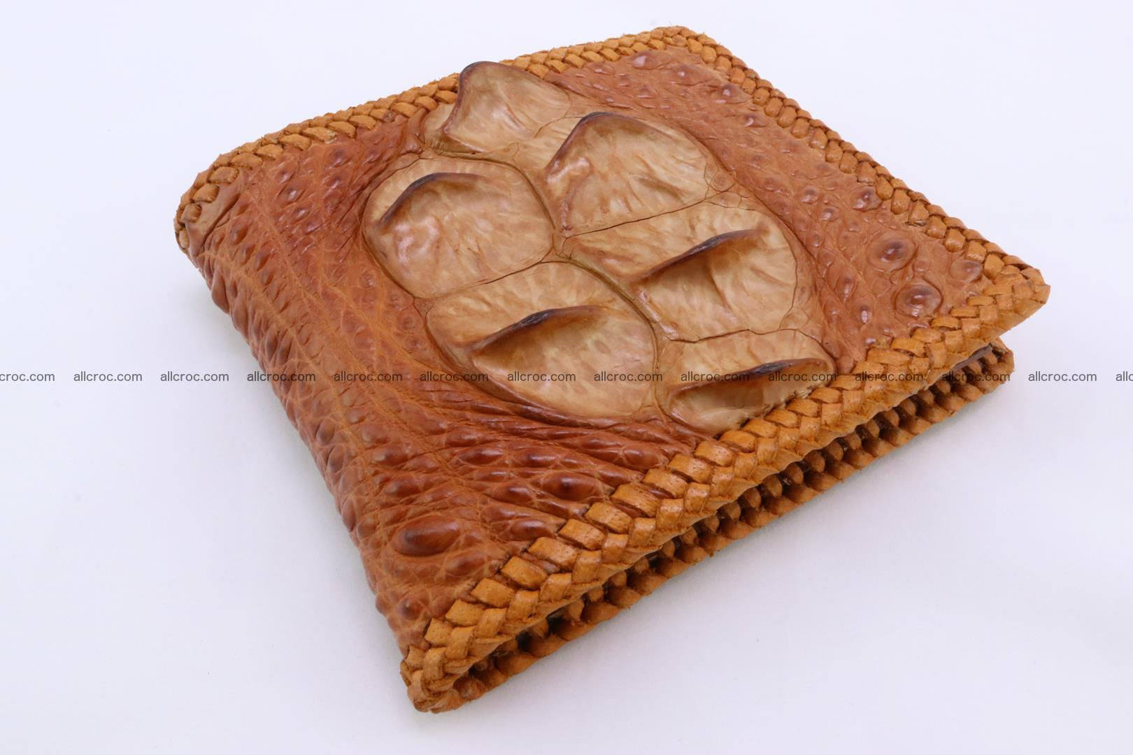Genuine crocodile hornback wallet 136 Foto 0