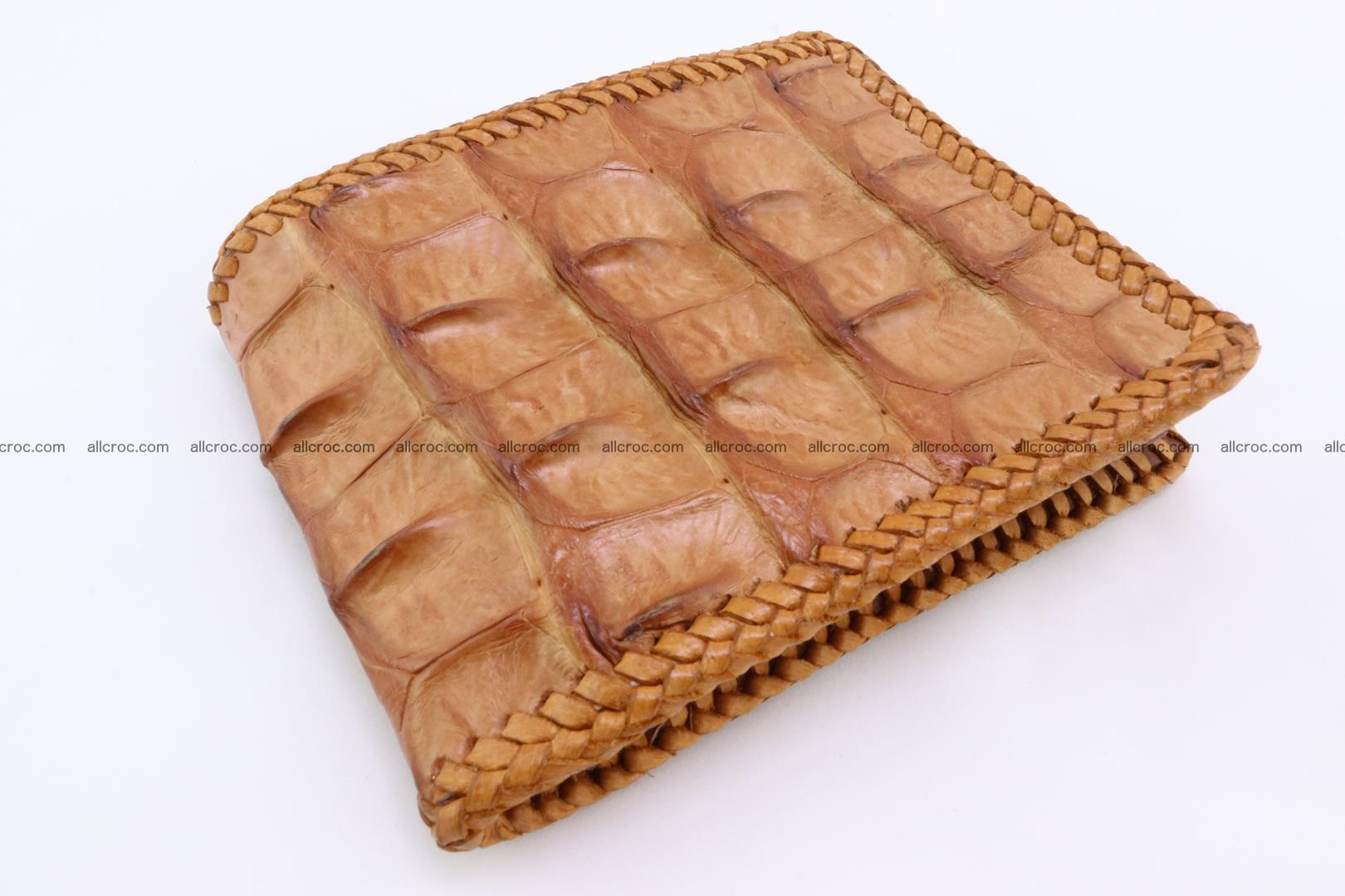Genuine crocodile hornback wallet 137 Foto 0
