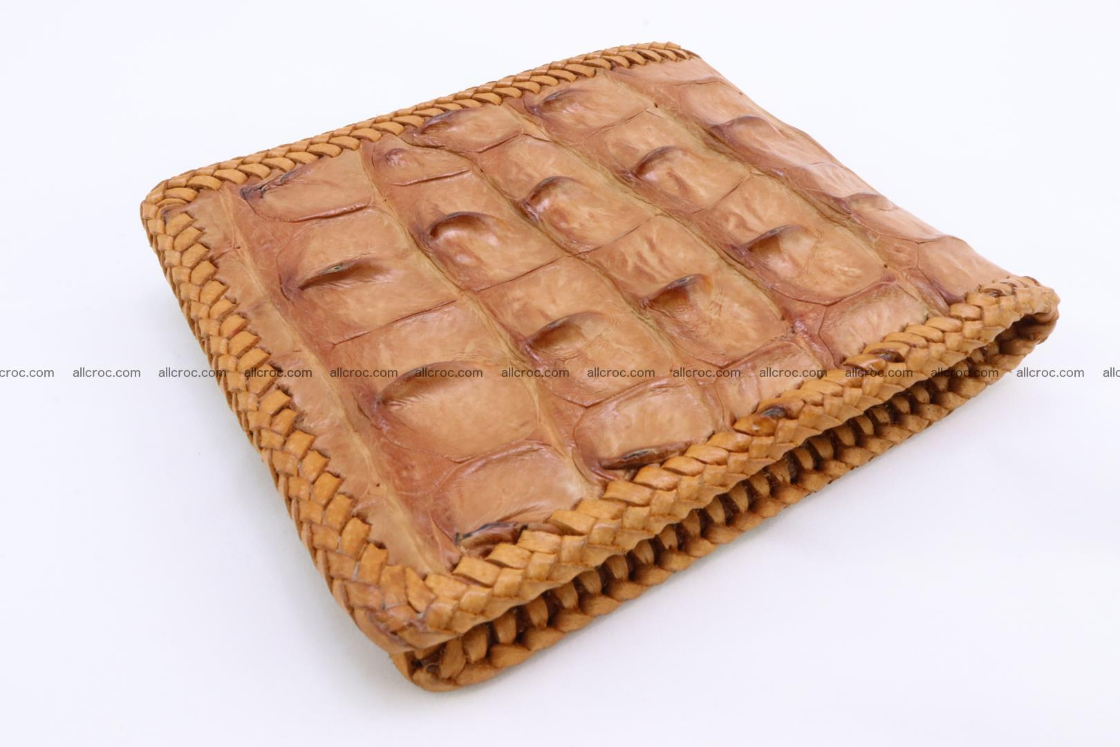 Genuine crocodile hornback wallet 137 Foto 3