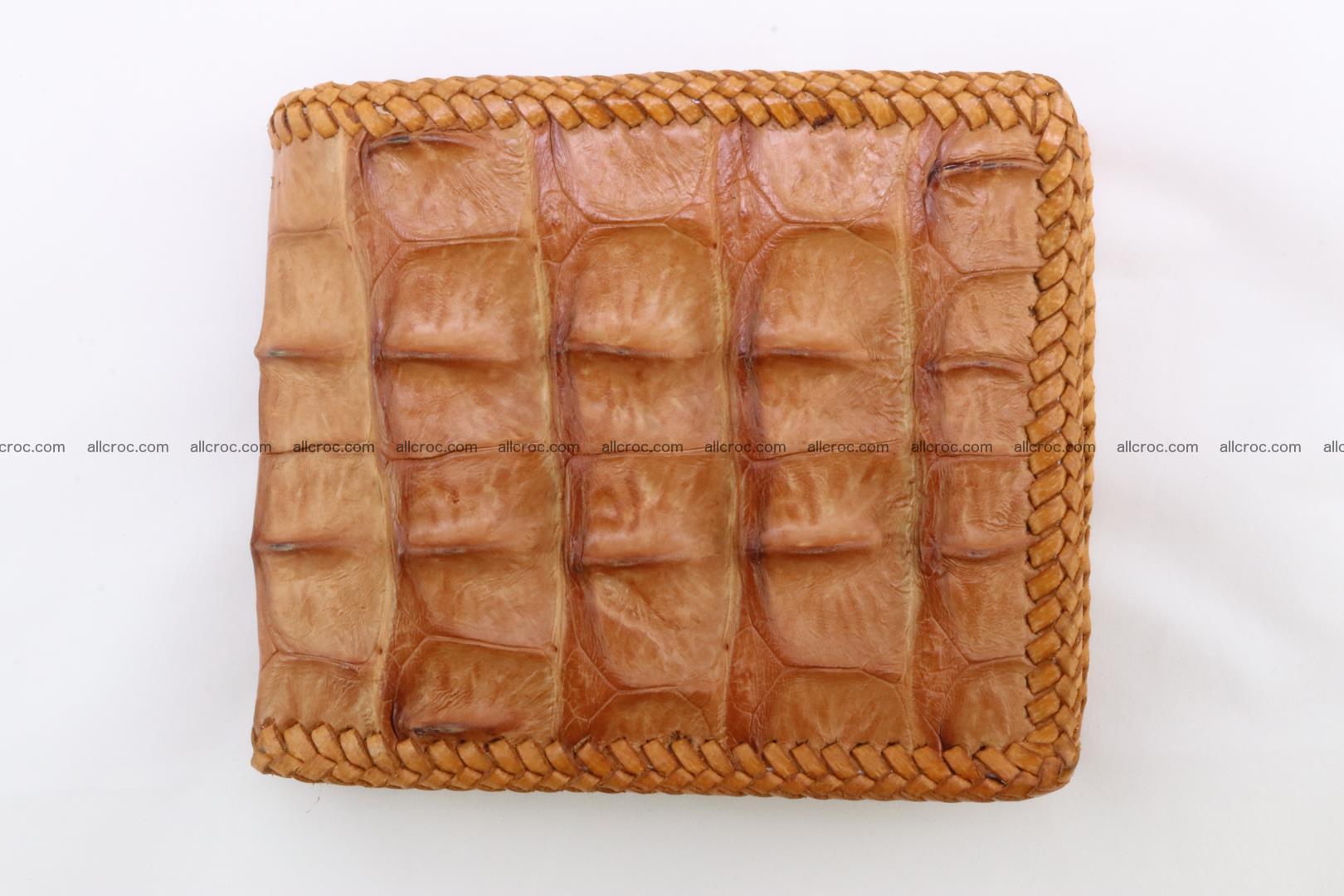 Genuine crocodile hornback wallet 137 Foto 2