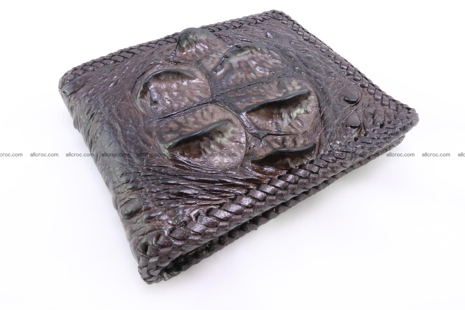 Genuine crocodile hornback wallet 116 Foto 0