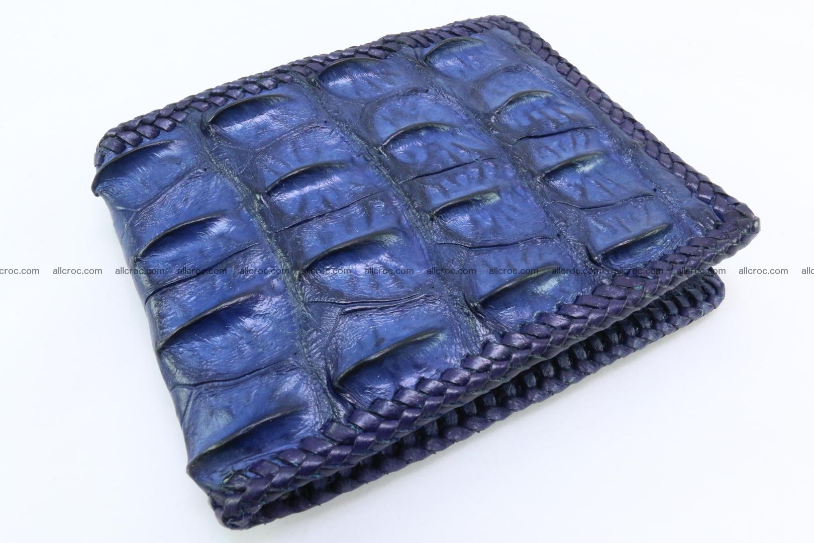 Genuine crocodile hornback wallet 120 Foto 0