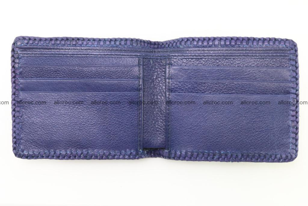 Genuine crocodile hornback wallet 118 Foto 6