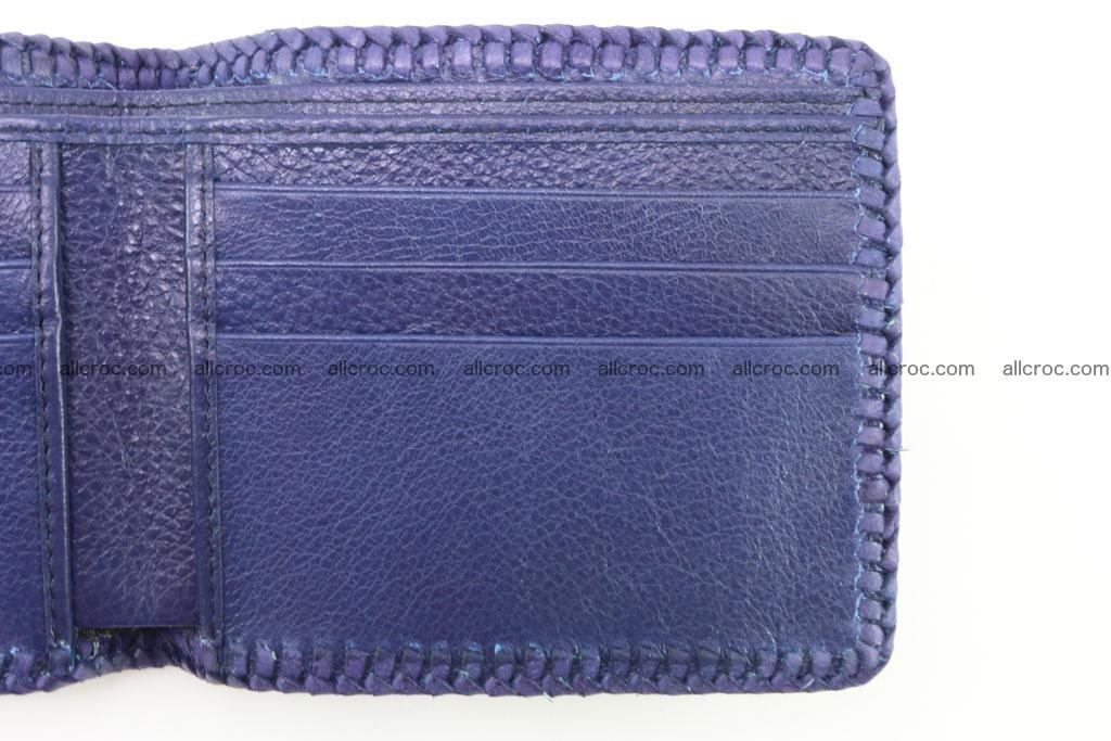 Genuine crocodile hornback wallet 120 Foto 9