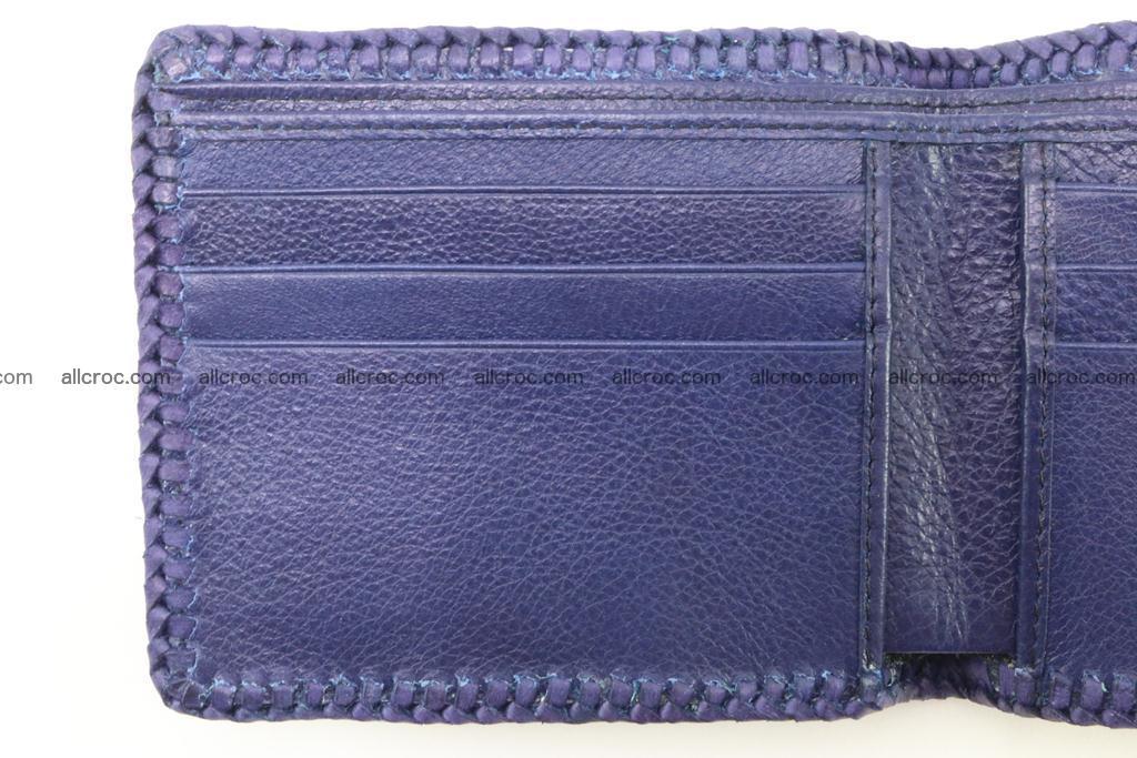 Genuine crocodile hornback wallet 118 Foto 9