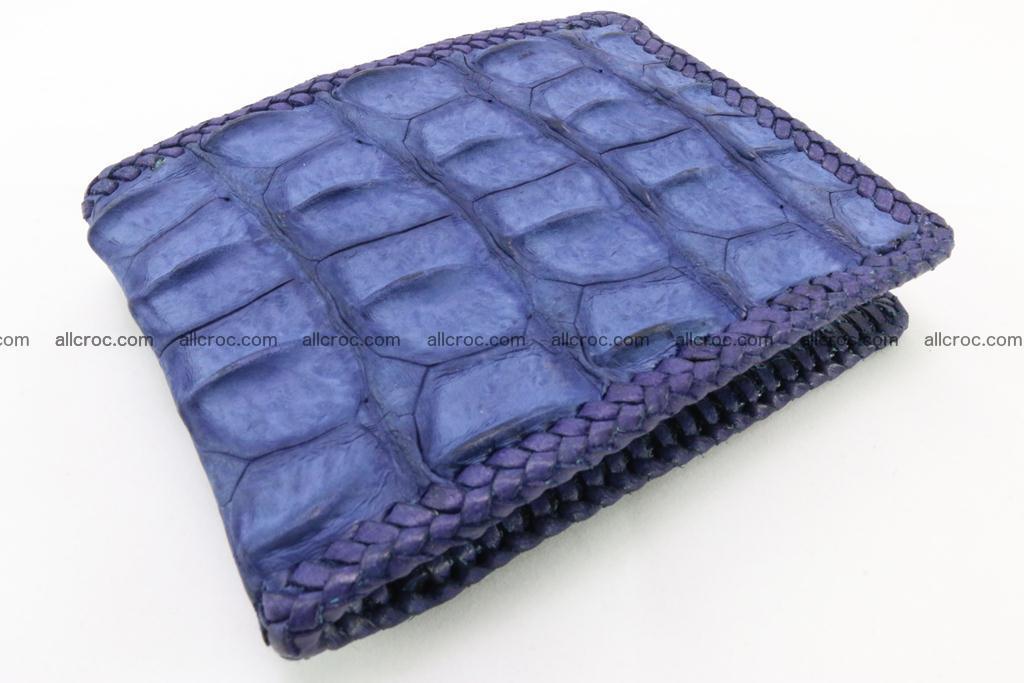 Genuine crocodile hornback wallet 118 Foto 0