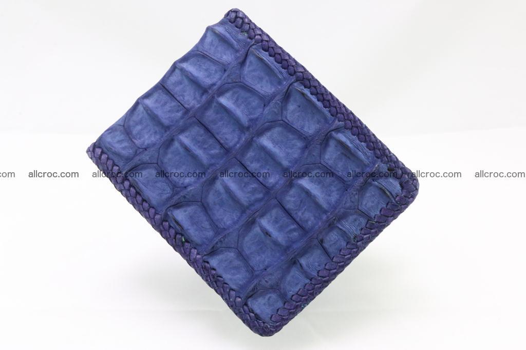 Genuine crocodile hornback wallet 118 Foto 2