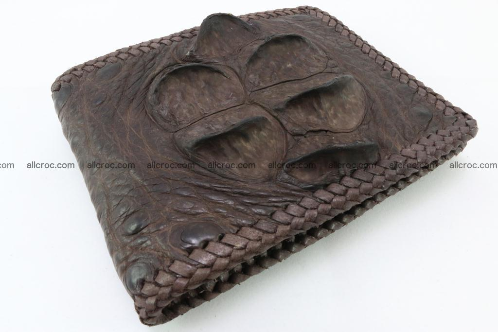 Genuine crocodile hornback wallet 113 Foto 0