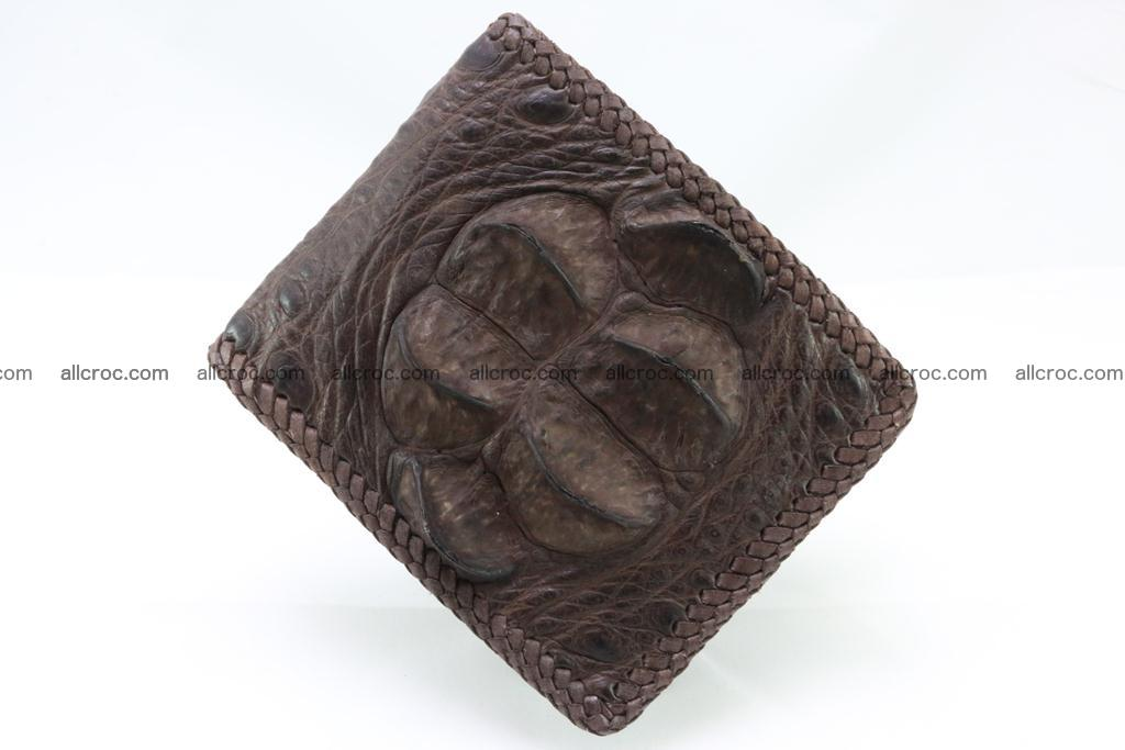 Genuine crocodile hornback wallet 113 Foto 4