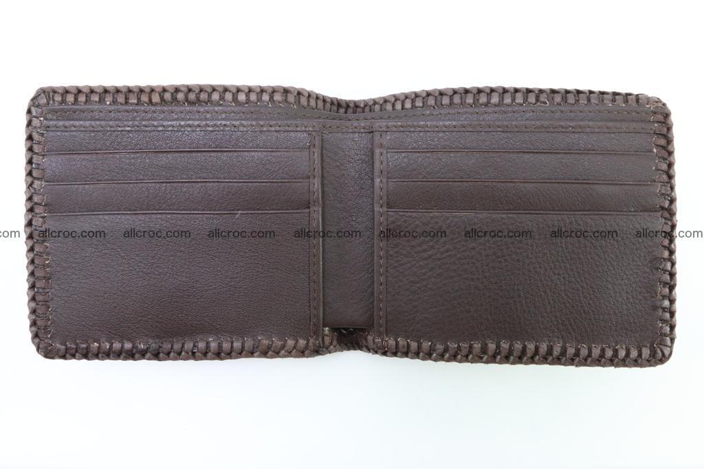 Genuine crocodile hornback wallet 114 Foto 7