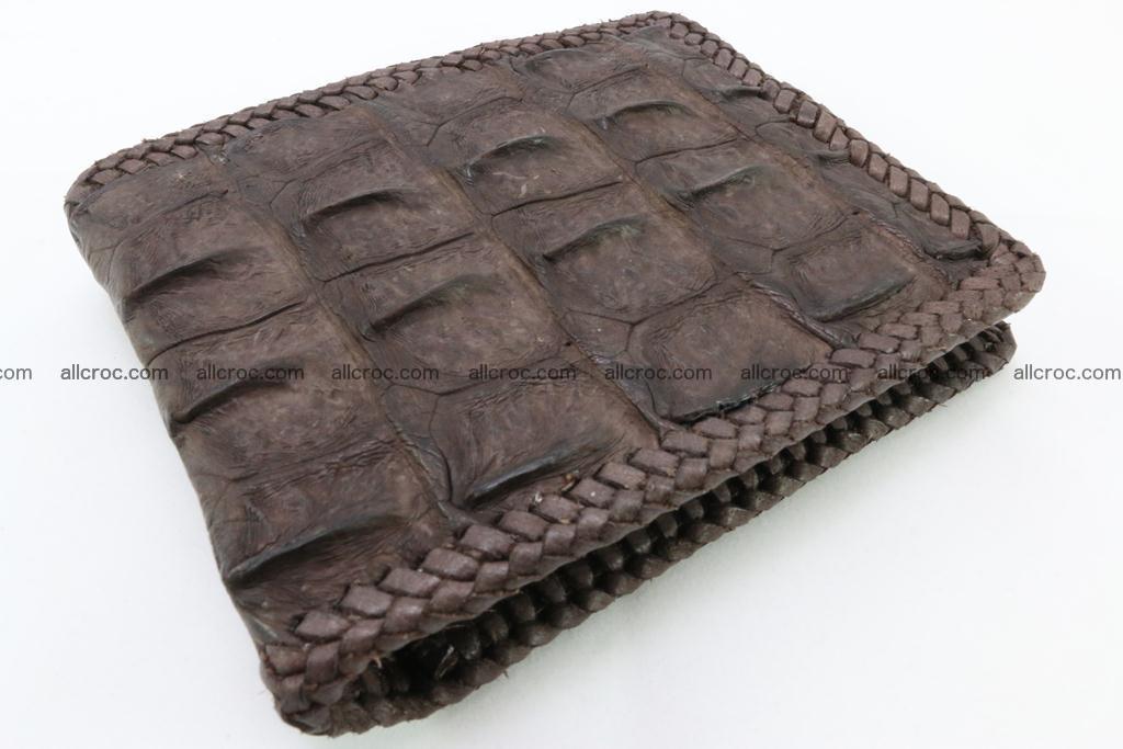 Genuine crocodile hornback wallet 114 Foto 0