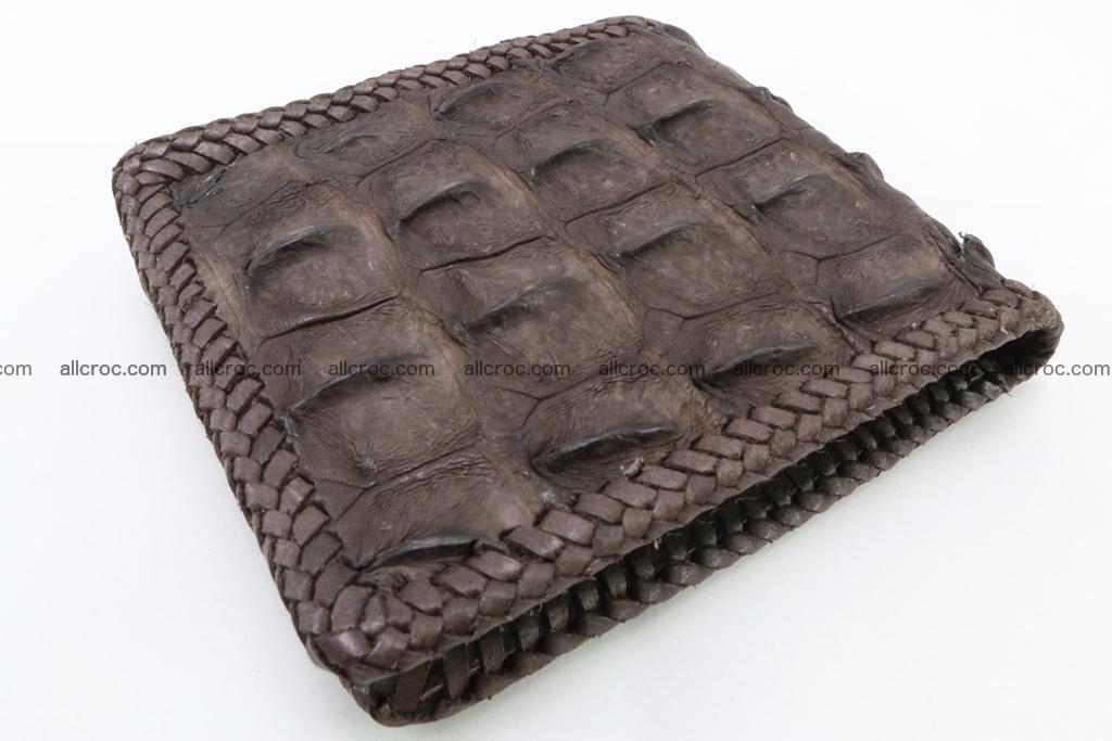 Genuine crocodile hornback wallet 114 Foto 1
