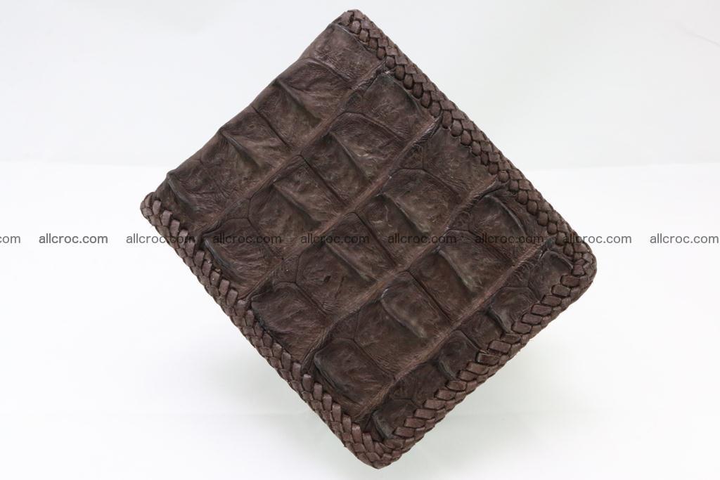 Genuine crocodile hornback wallet 114 Foto 2