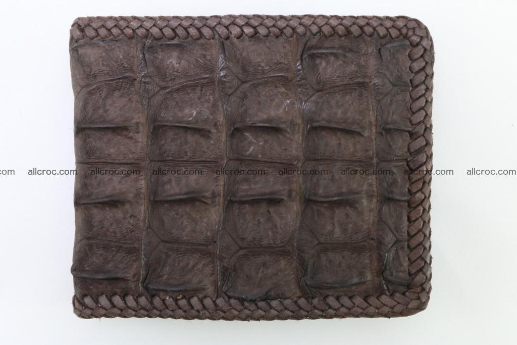 Genuine crocodile hornback wallet 114 Foto 4
