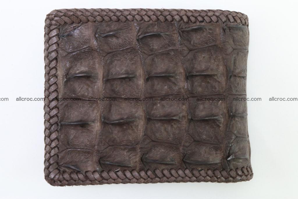 Genuine crocodile hornback wallet 114 Foto 5