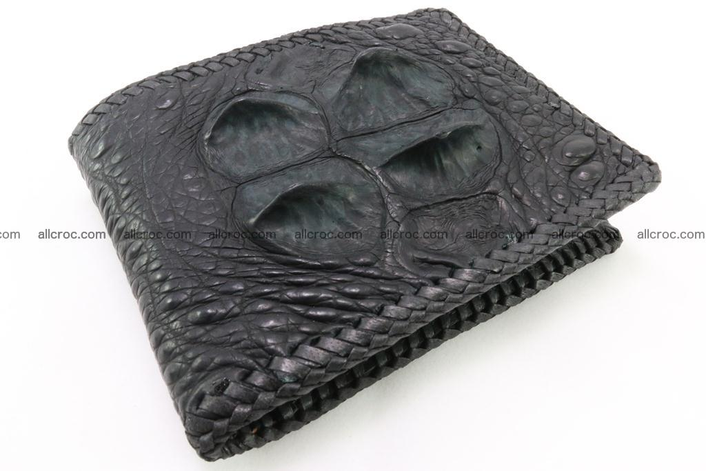 Genuine crocodile hornback wallet 121 Foto 0