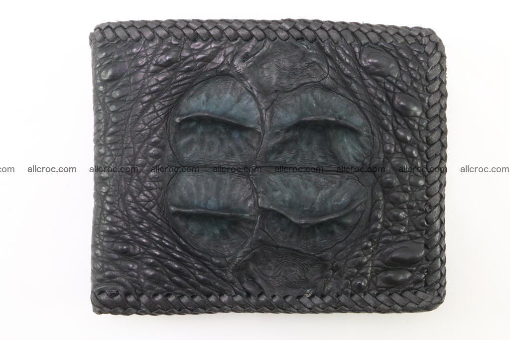 Genuine crocodile hornback wallet 121 Foto 2