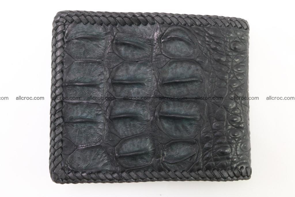 Genuine crocodile hornback wallet 121 Foto 3