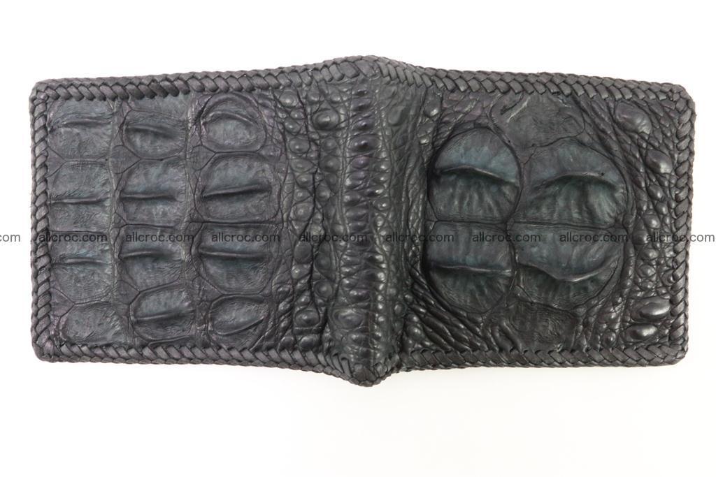 Genuine crocodile hornback wallet 121 Foto 5