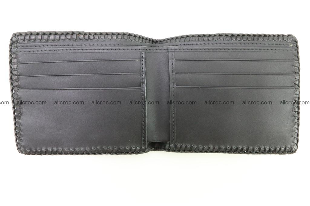 Genuine crocodile hornback wallet 122 Foto 9