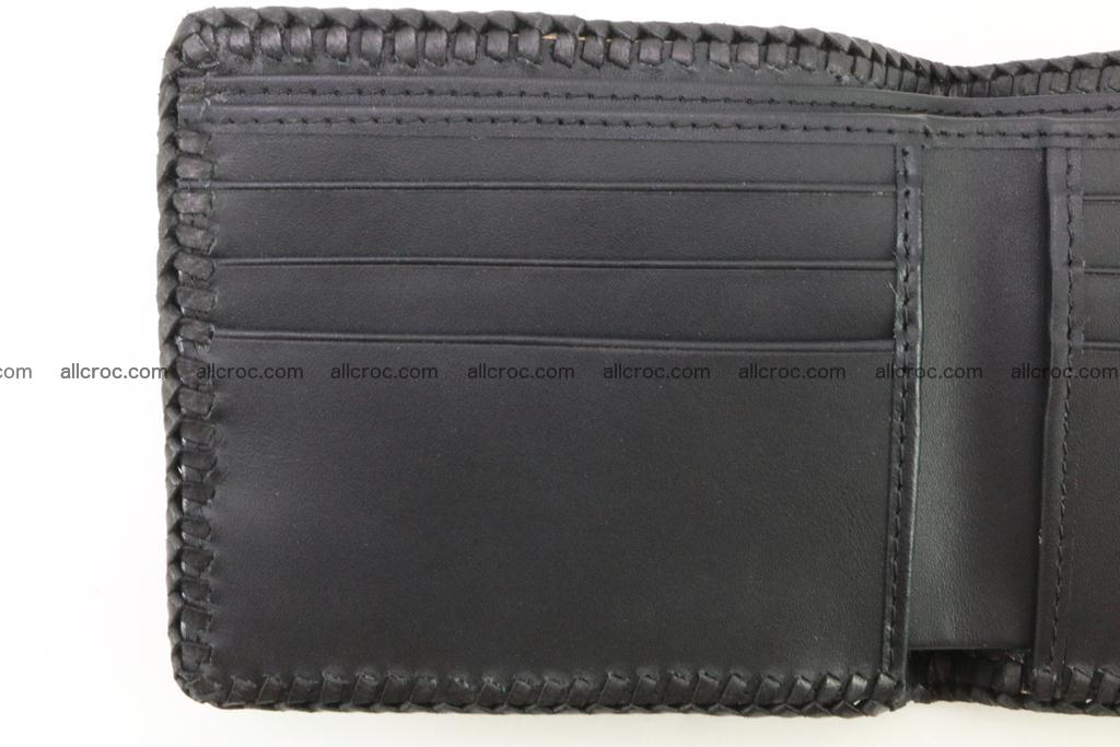 Genuine crocodile hornback wallet 122 Foto 8