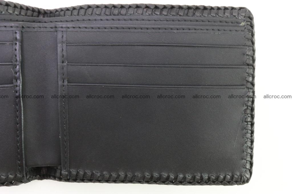Genuine crocodile hornback wallet 122 Foto 7