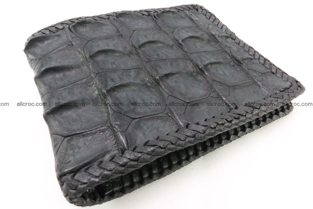 Genuine crocodile hornback wallet 124 Foto 0