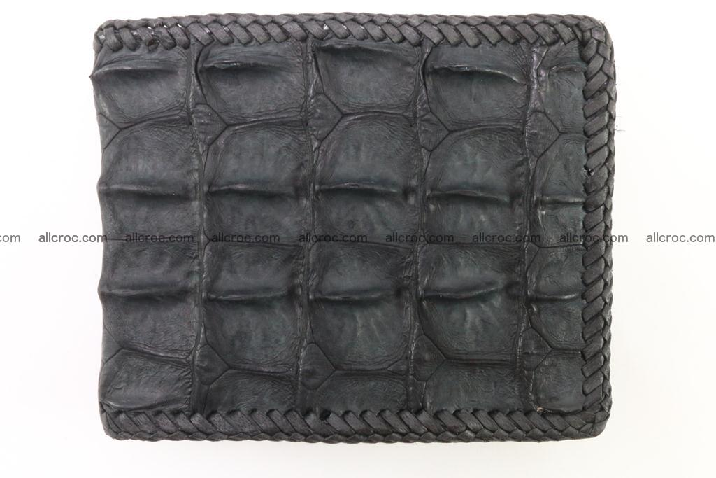 Genuine crocodile hornback wallet 124 Foto 2