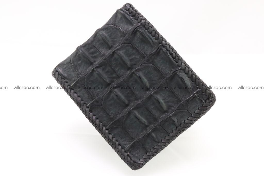 Genuine crocodile hornback wallet 124 Foto 3