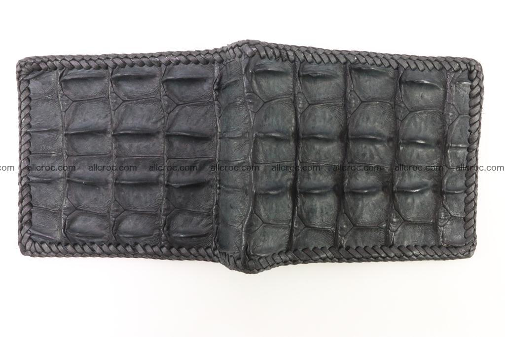 Genuine crocodile hornback wallet 124 Foto 5